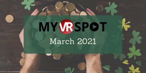 MyVRSpot's March 2021 Newsletter
