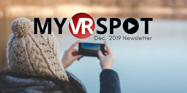 MyVRSpot's December Newsletter