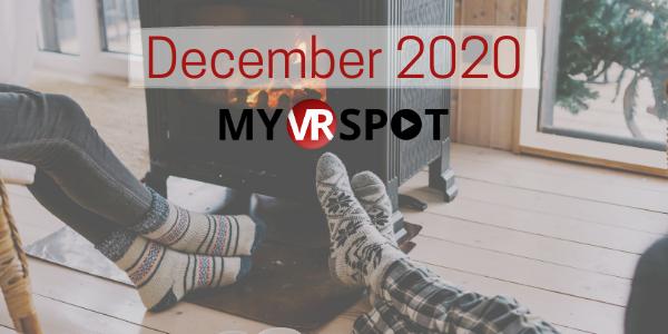 MyVRSpot's December 2020 Newsletter